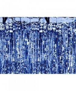 Cortina de fiesta, azul,...