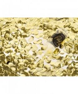 Confetti push pop gold