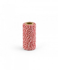 Baker's Twine, red, 50m (1...