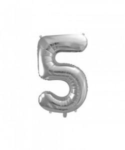 Número de globo de aluminio...