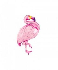Foil balloon Flamingo,...